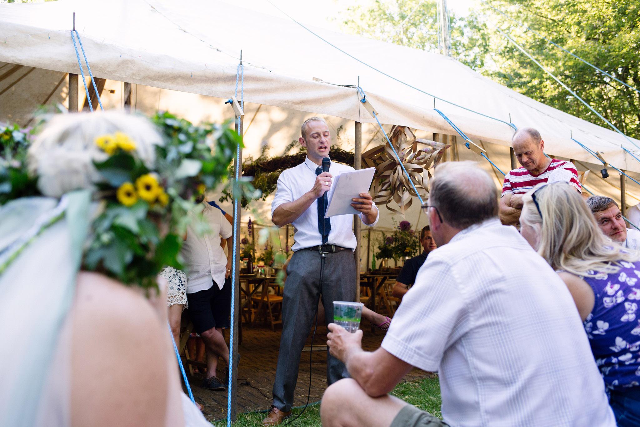 Hawes Villa Campsite Wedding