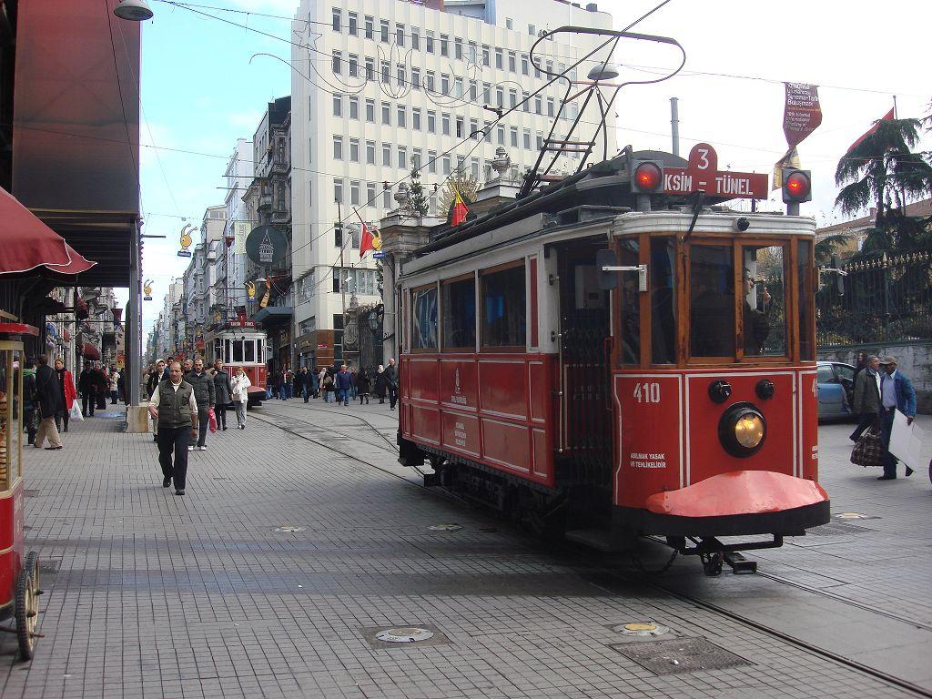 20071210 006 Istanbul Alte Straßenbahn