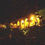 Balchik Rosengarten bei Nacht