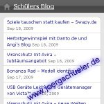 Schülers Blog goes mobile