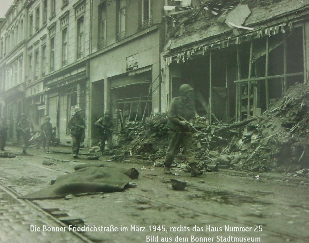 Bonn Friedrichstrae 1945