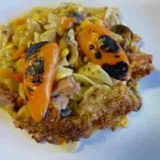Plated vegetable tetrazzini. | joeshealthymeals.com