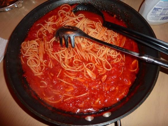 Add the Pasta