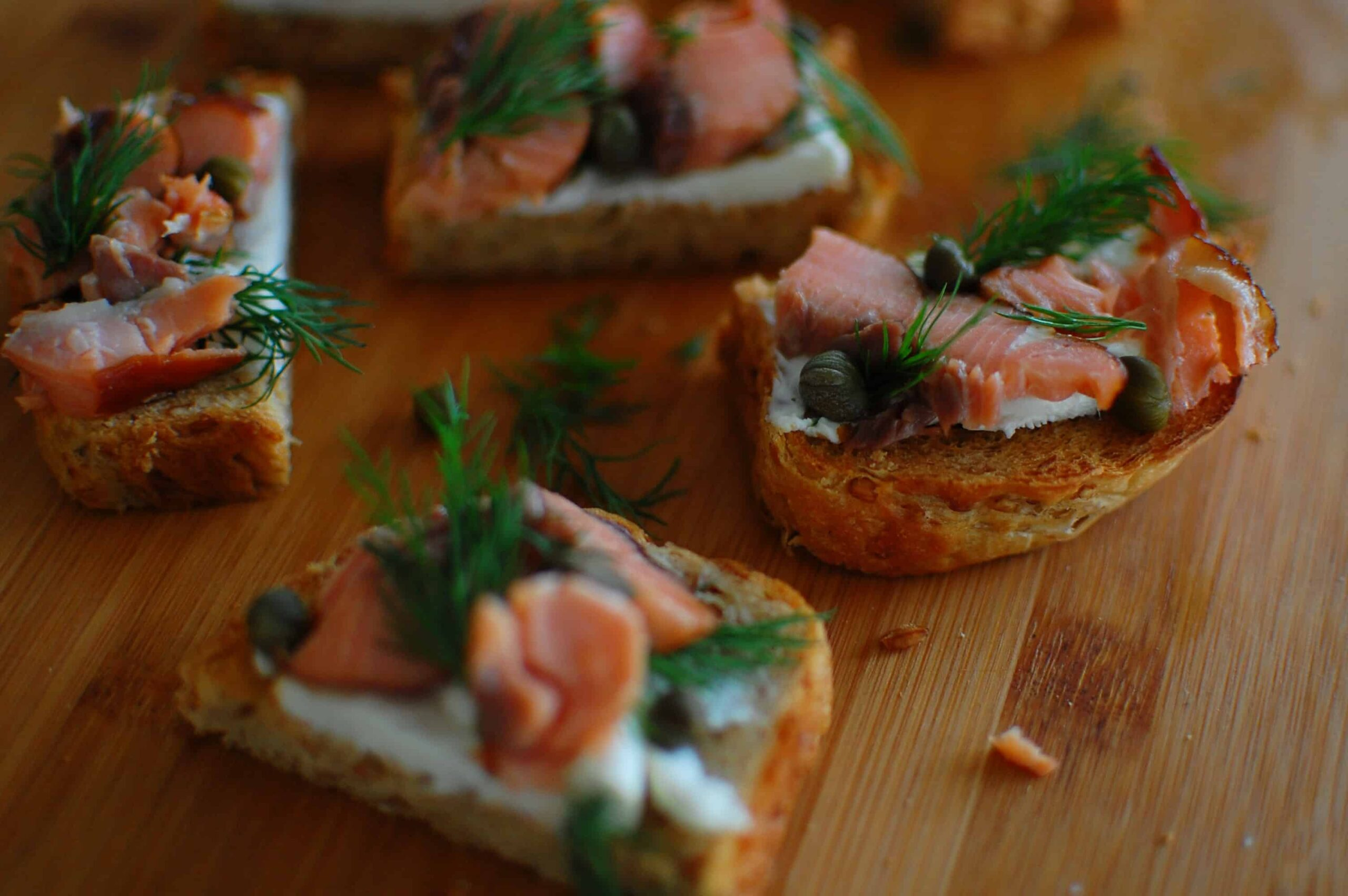 Salmon canape 2 joe 39 s healthy meals for Salmon canape ideas