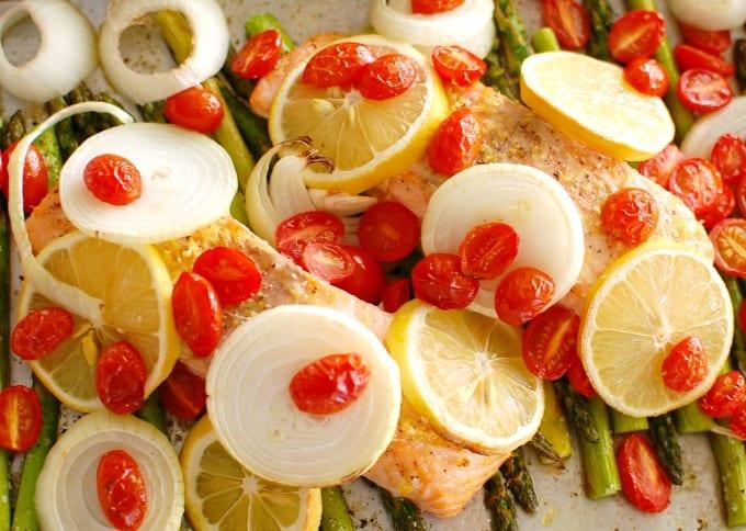 one pan salmon