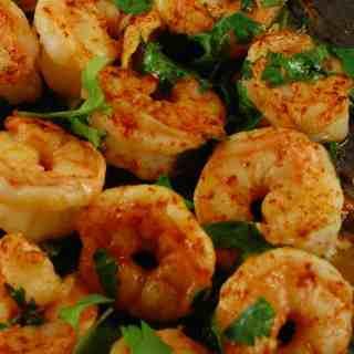 Cilantro Lime Shrimp | joeshealthymeals.com