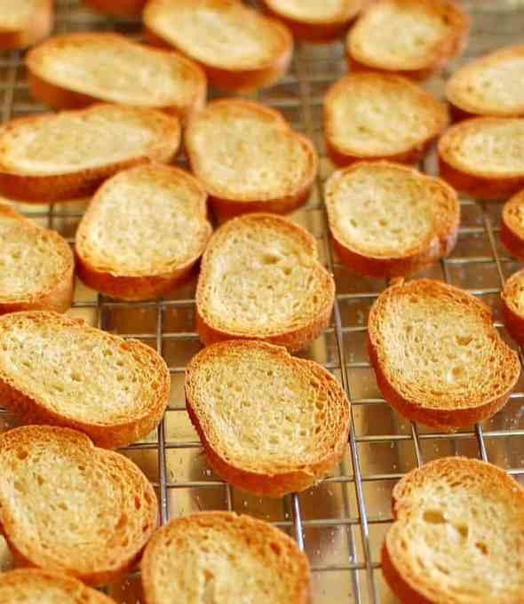 Toasted baguette. | joeshealthmeals.com