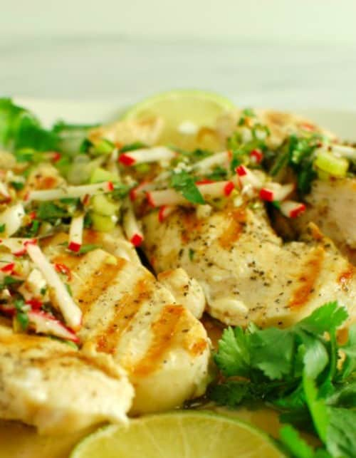 Chimichurri sauce. Great on grilled chicken!   joeshealthymeals.com