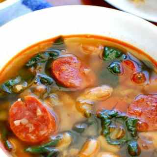 Chorizo White Bean Soup