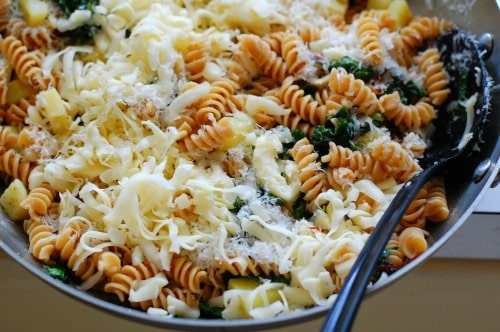 Cheese and pasta. | joeshealthymeals.com