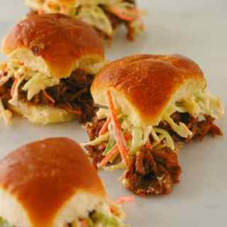 BBQ Jackfruit Sliders