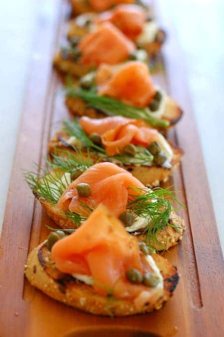 salmon with capers and dill