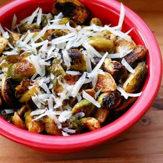 Spiced Up Roasted Brussels Sprouts
