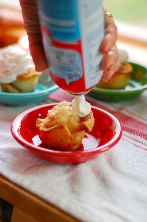 More Reddi Wip please. Tasty, simple to make dessert that everyone will love. | joeshealthymeals.com