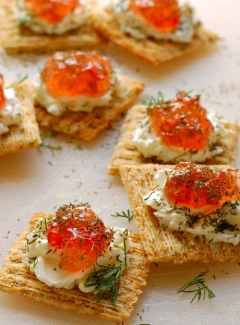 Pepper jelly cream cheese appetizer