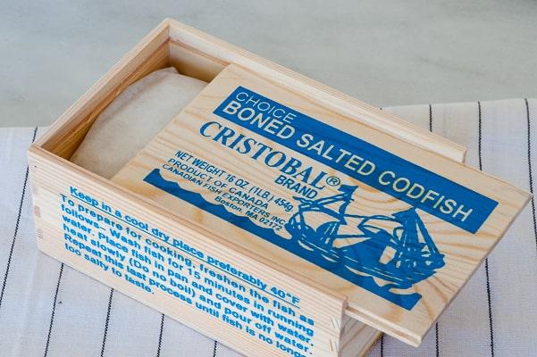 Boned salted codfish. Caribbean salt cod fritters. Tasty appetizer everyone will love. | joeshealthymeals.com