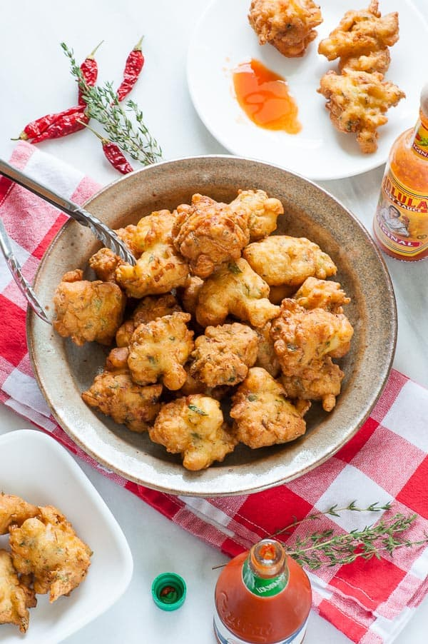 Caribbean salted codfish fritters. Tasty appetizer everyone will love. | joeshealthymeals.com