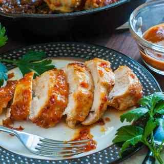 Apricot-Chili Glazed Chicken Breast