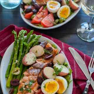 Seared Salmon Salad Nicoise