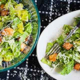 Sensational Traditional Caesar Dressing