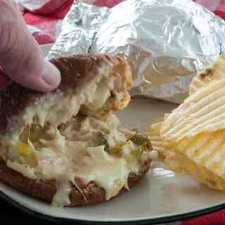 Cheesy Hot Tuna Sandwiches