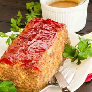 My favorite meatloaf recipe tastes great and includes some unusual ingredients. | joeshealthymeals.com