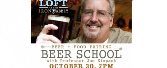 Beer School at the Loft at Iron Abbey
