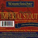 Weyerbacher Raspberry Imperial Stout label