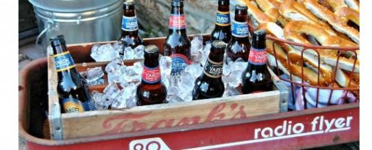 How to build a DIY beer garden