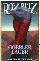 Roy Pitz Gobbler Lager label