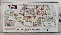 Old Town San Diego Map