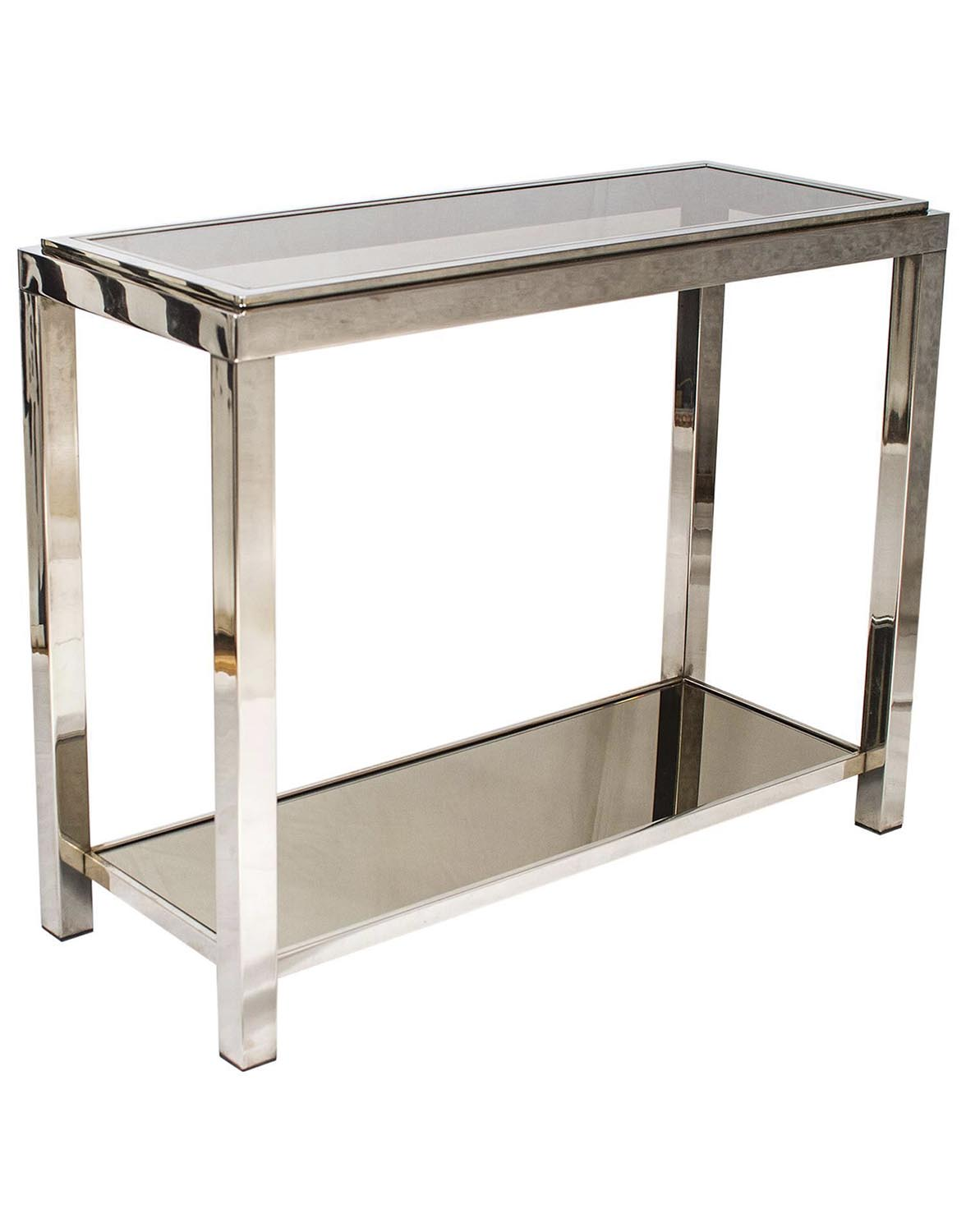 vogue chrome sofa table cheap sectional sofas utah console joevin ortjens galerie