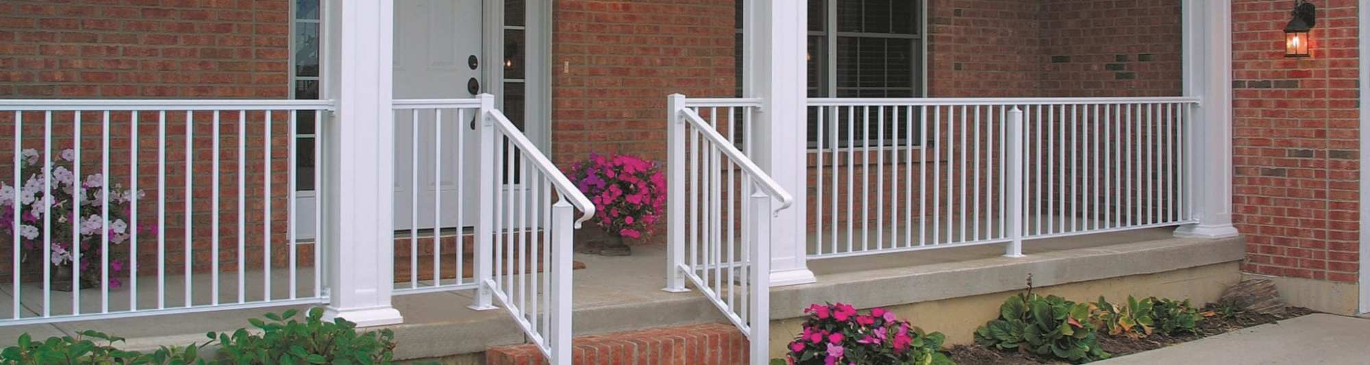 hight resolution of residential railings and columns