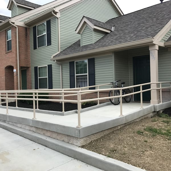 residential columns railings waukesha