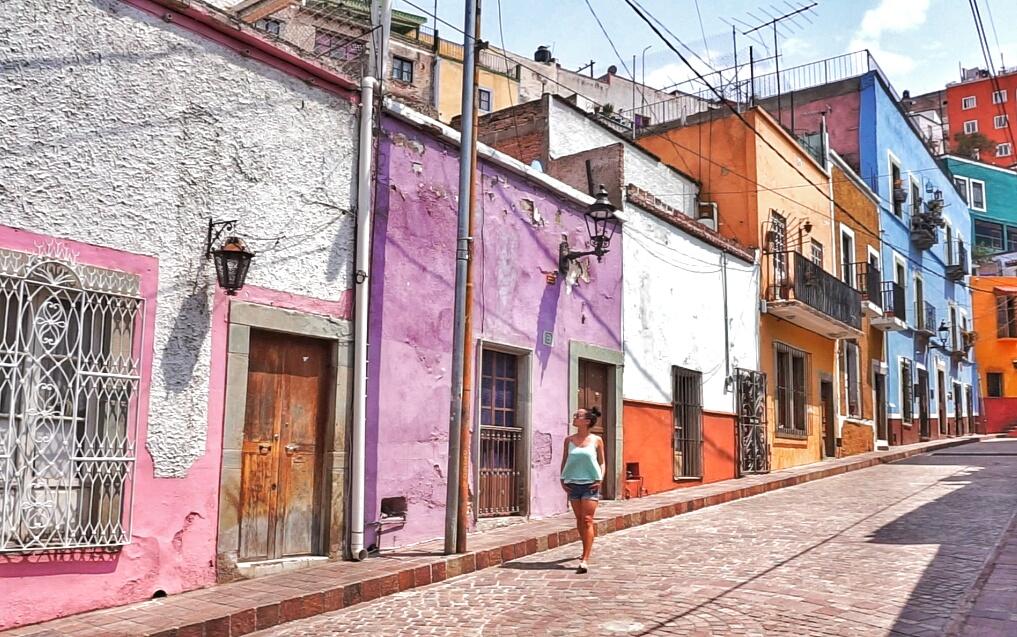 Guanajuato street, Mexico