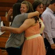 during the 2014 8th Grade Promotion Ceremony Otis-Bison Junior/Senior High School in Otis, Kansas on May 20, 2014. (Photo: Joey Bahr, www.joeybahr.com)