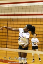 During the Central Kansas Slam Volleyball Tournament
