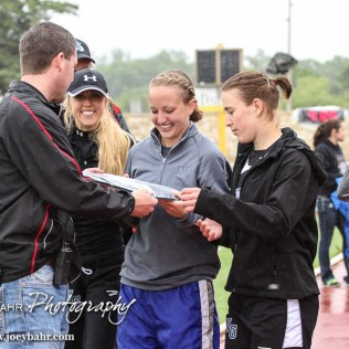 during the KSHSAA Class 1A Regional Track Meet