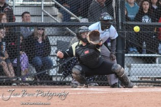 during the KSHSAA Class 5A Softball Regional Quaterfinal between the Great Bend Lady Panthers and the Maize South Lady Mavericks with Great Bend winning 2 to 1
