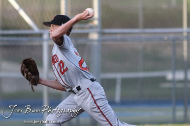 during the Great Bend Panthers versus the Larned Indian baseball game with Great Bend winning 12 to 3