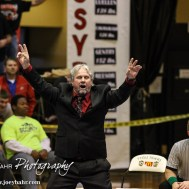 during the KSHSAA Class 3-2-1A State Wrestling Championships