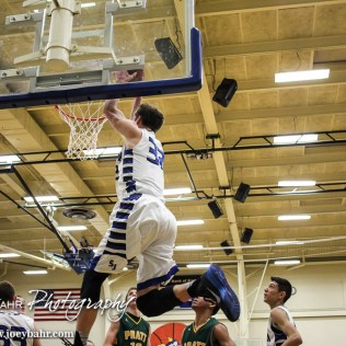 during the 47th Annual St. John Lions Club Mid-Winter Classic Semi-Final game between the St. John Tigers versus the Pratt Greenbacks with St. John winning 72 to 39