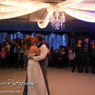 during the Wedding of Chris Sohm and Trisha Kolbeck