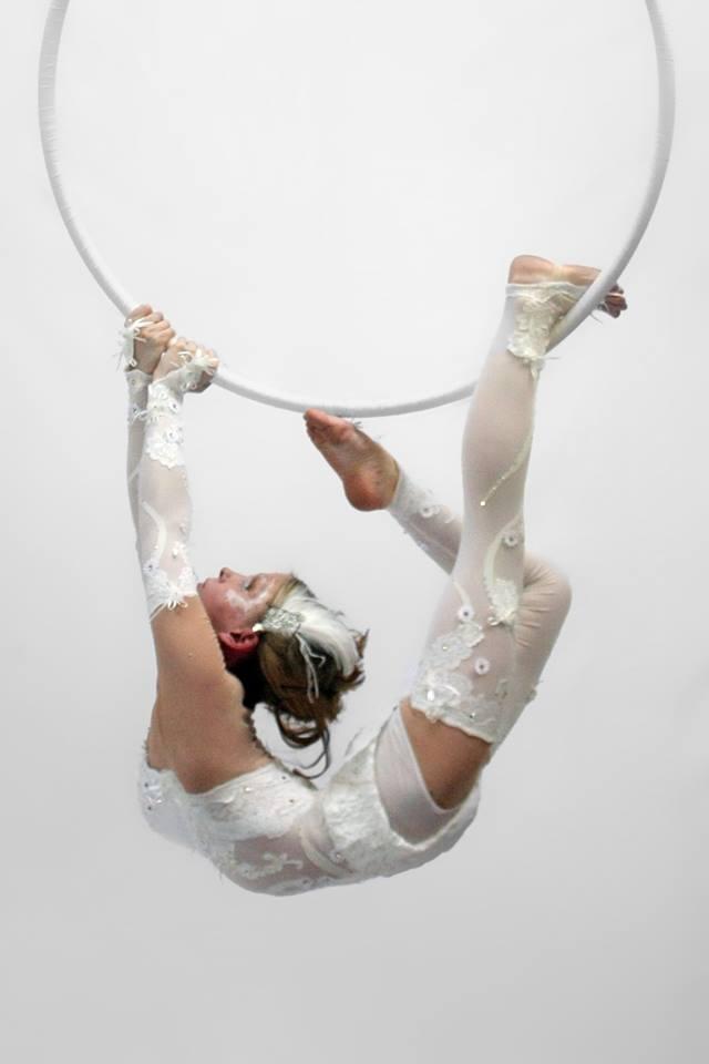 Aerial Hoop Jo Foley