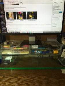 Jo Franklin's stationery drawers