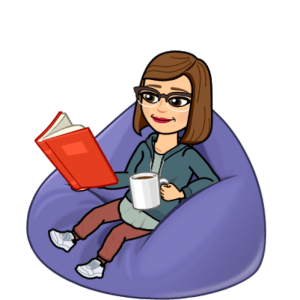 Jo Franklin bitmoji reading