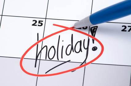 Il est temps de partir en vacance…