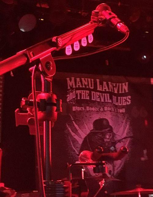 MANU LANVIN & The Devil Blues au 66 à Verviers