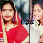 bhojpuri actress kajal raghwani childhood pic