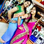 bhojpuri actress kajal raghwani with sister